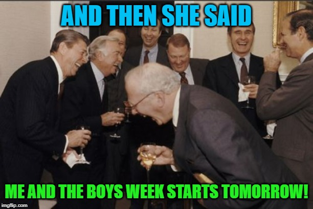 "Starting tomorrow!  Me and the boys week! A CravenMoordik and Nixie.Knox event! (Aug. 19-25) Bring your best ""Me and the Boys""! 
