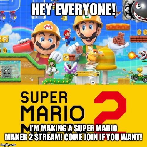 Link in the comments! | image tagged in super mario bros,streams | made w/ Imgflip meme maker