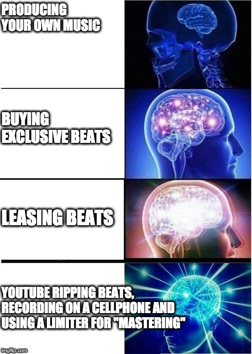 "Ascension |  PRODUCING YOUR OWN MUSIC; BUYING EXCLUSIVE BEATS; LEASING BEATS; YOUTUBE RIPPING BEATS, RECORDING ON A CELLPHONE AND USING A LIMITER FOR ""MASTERING"" 