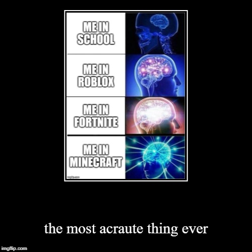 the most acraute thing ever | image tagged in funny,demotivationals | made w/ Imgflip demotivational maker