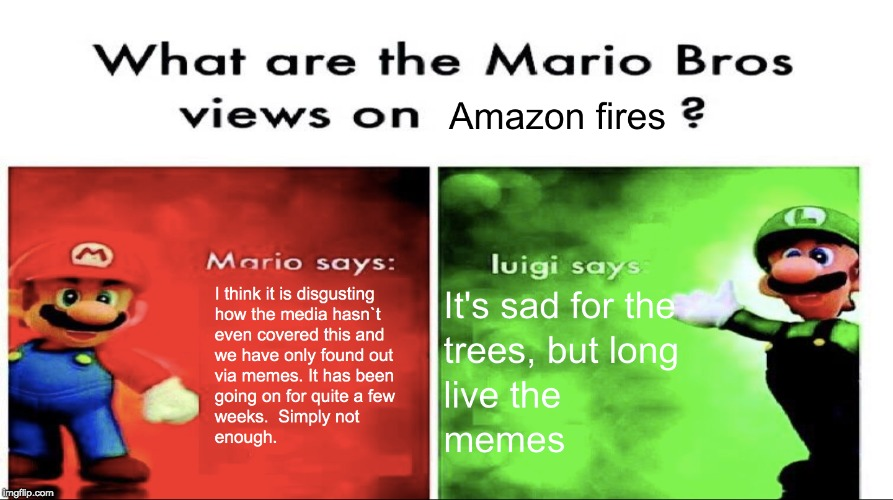 It`s what they think.. Raise awareness | image tagged in super mario bros | made w/ Imgflip meme maker