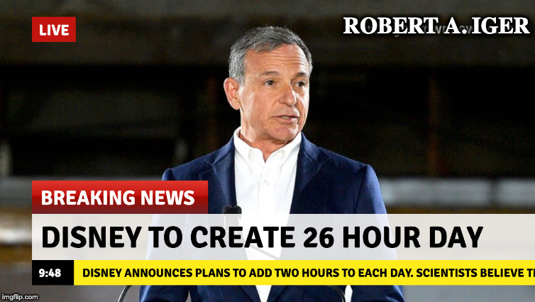 ROBERT A. IGER | made w/ Imgflip meme maker