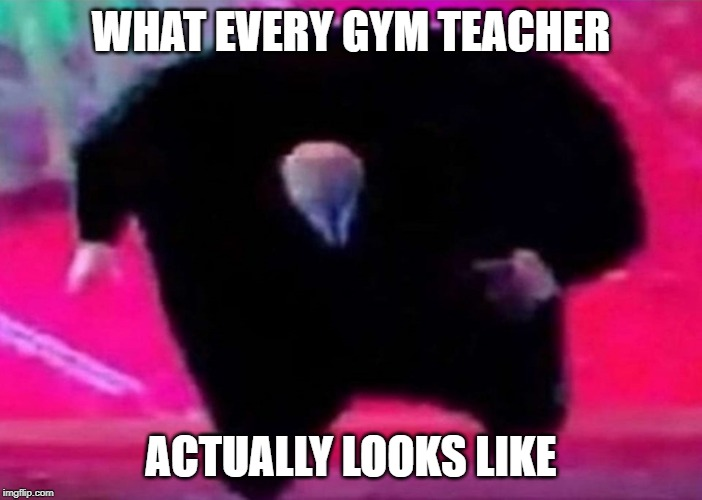 do i have a point here? | WHAT EVERY GYM TEACHER ACTUALLY LOOKS LIKE | image tagged in literal meme | made w/ Imgflip meme maker