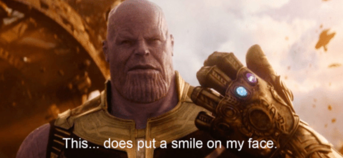 This Does Put a Smile to my Face Meme Template