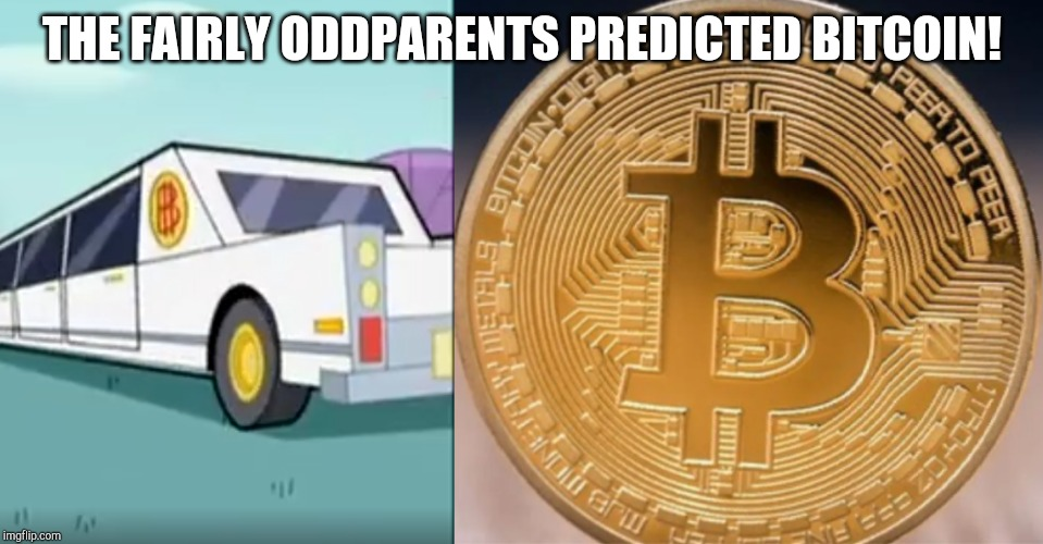 THE FAIRLY ODDPARENTS PREDICTED BITCOIN! | image tagged in fairly odd parents,bitcoin | made w/ Imgflip meme maker