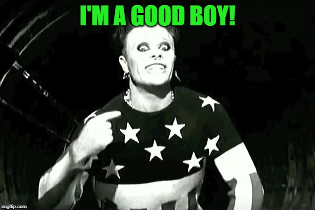 prodigy firestarter | I'M A GOOD BOY! | image tagged in prodigy firestarter | made w/ Imgflip meme maker