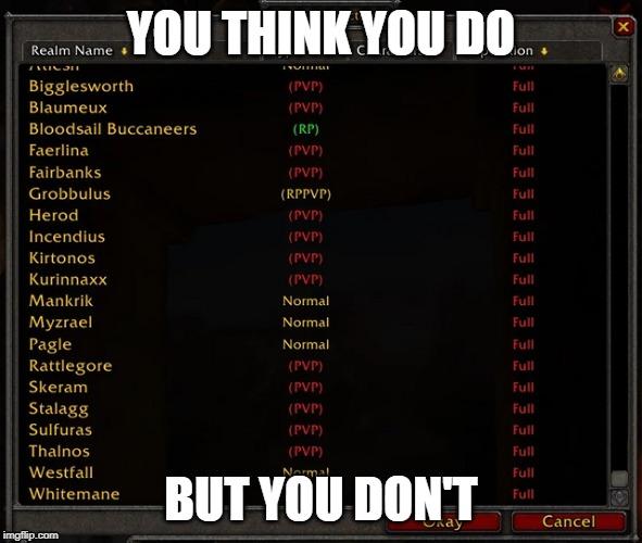 World Of Warcraft Memes Gifs Imgflip