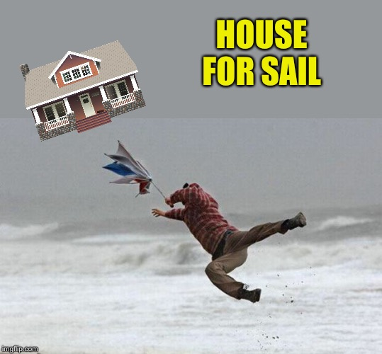 windy | HOUSE FOR SAIL | image tagged in windy | made w/ Imgflip meme maker