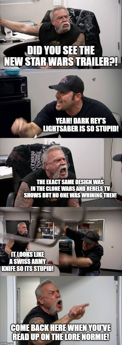 American Chopper Argument Meme Imgflip