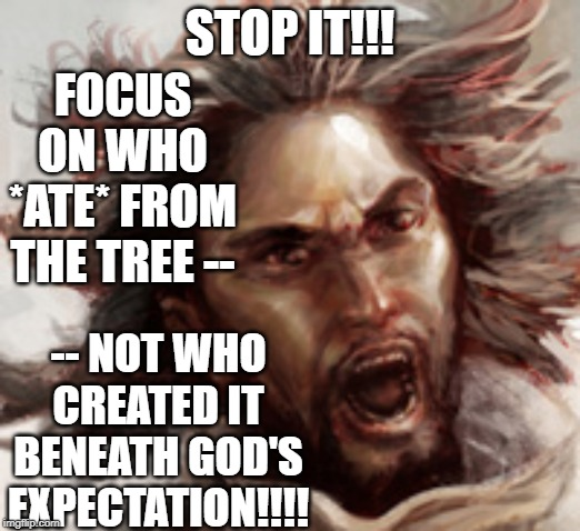 "Jesus ""teaching"" about God. 