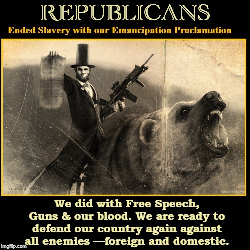There is No Other Choice for Your Vote... | image tagged in vince vance,abraham lincoln,emancipation proclamation,free speech,2nd amendment,patriotism | made w/ Imgflip meme maker