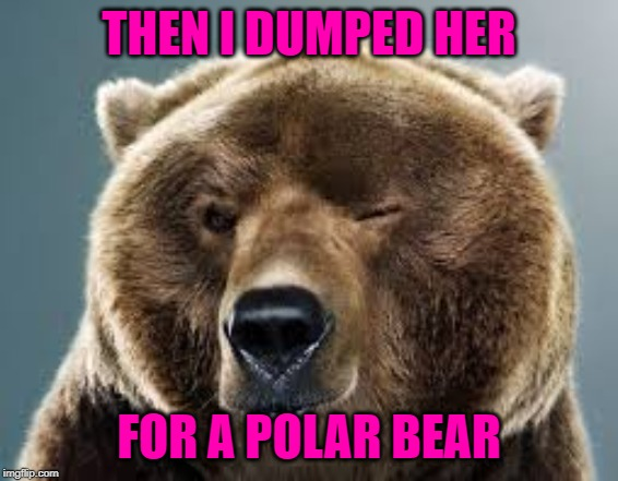 THEN I DUMPED HER FOR A POLAR BEAR | made w/ Imgflip meme maker