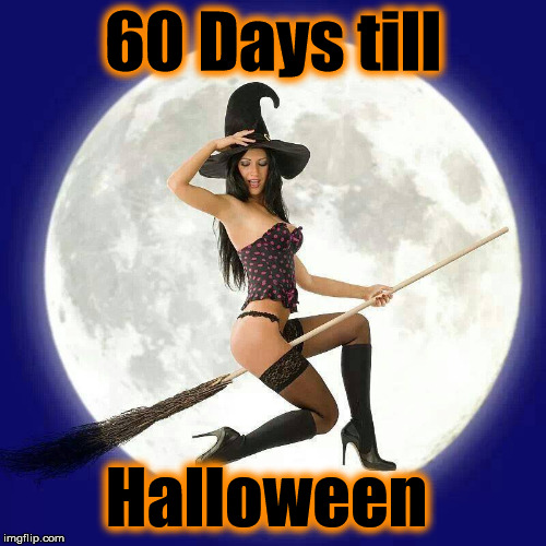 h | 60 Days till Halloween | image tagged in h | made w/ Imgflip meme maker
