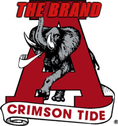 Crimson Path | THE BRAND | image tagged in crimson tide,college football,football,alabama football,alabama,roll tide | made w/ Imgflip meme maker