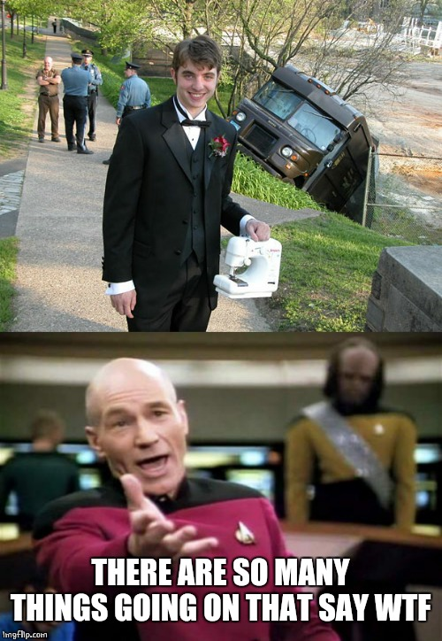 WTF | THERE ARE SO MANY THINGS GOING ON THAT SAY WTF | image tagged in memes,picard wtf | made w/ Imgflip meme maker