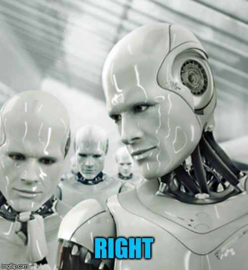 Robots Meme | RIGHT | image tagged in memes,robots | made w/ Imgflip meme maker