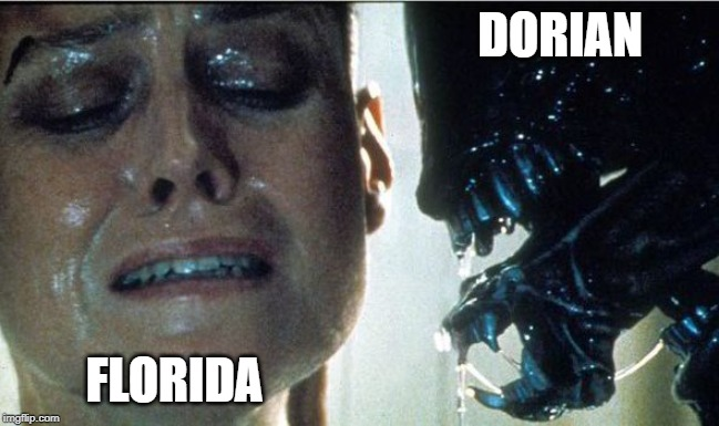 DORIAN FLORIDA | image tagged in hurricane dorian,meanwhile in florida | made w/ Imgflip meme maker