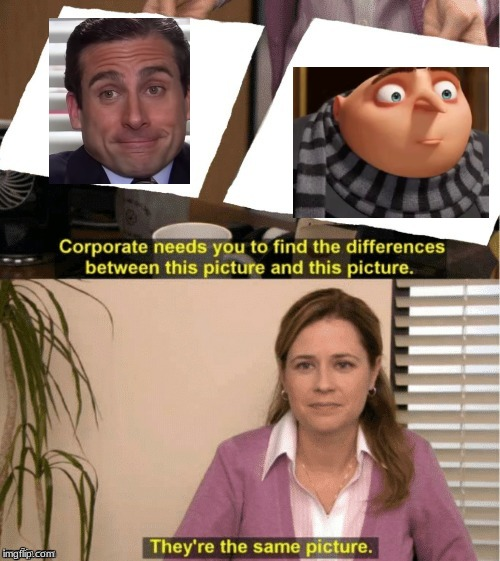 Hahahahahahahhahahahah | image tagged in office same picture,steve carell | made w/ Imgflip meme maker