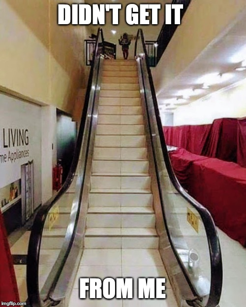Fake Escalater  | DIDN'T GET IT FROM ME | image tagged in fake escalater | made w/ Imgflip meme maker