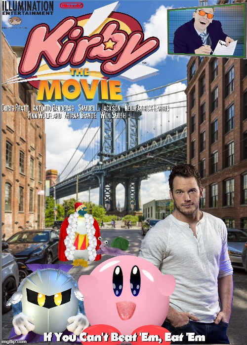 The Nintendo Movie no one asked for | image tagged in kirby,memes,funny,fake movie | made w/ Imgflip meme maker