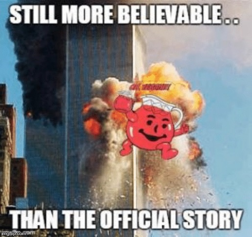 9/11 Inside Job | image tagged in 9/11 truth movement,new world order,wake up,george bush,president trump,fake news | made w/ Imgflip meme maker