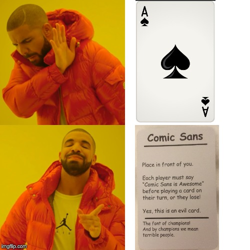 How real men play cards | image tagged in memes,drake hotline bling,cards,games | made w/ Imgflip meme maker