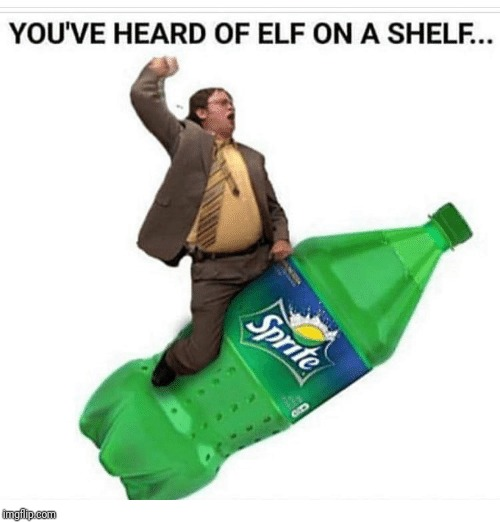 image tagged in elf on the shelf | made w/ Imgflip meme maker