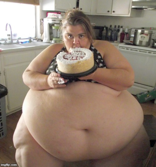 Happy Birthday Fat Girl | image tagged in happy birthday fat girl | made w/ Imgflip meme maker