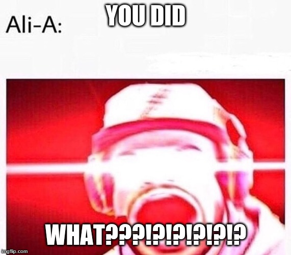 YOU DID WHAT???!?!?!?!?!? | image tagged in thisisfortnite | made w/ Imgflip meme maker