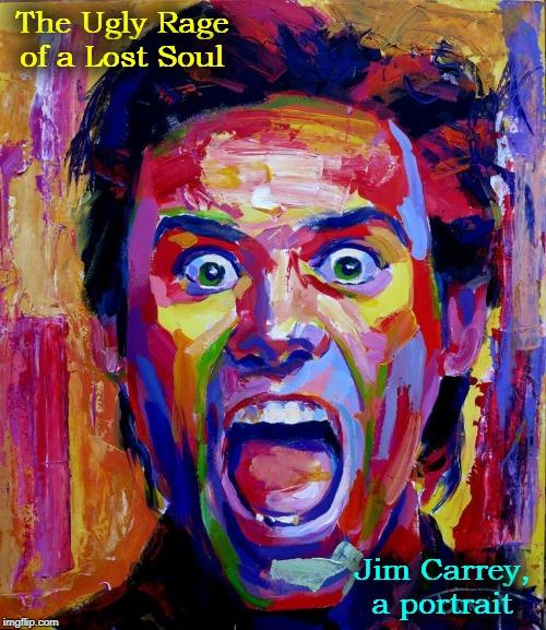 "After playing Andy Kaufman, I wasn't sure who I was anymore."" —Jim Carrey 