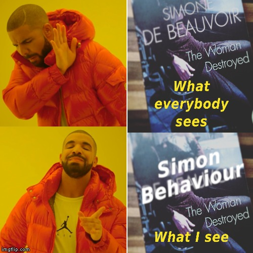 Simon Behaviour | image tagged in funny,french | made w/ Imgflip meme maker