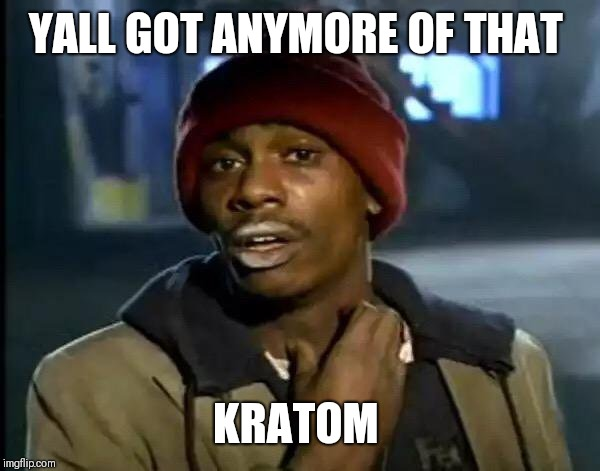 Y'all Got Any More Of That Meme | YALL GOT ANYMORE OF THAT KRATOM | image tagged in memes,y'all got any more of that | made w/ Imgflip meme maker