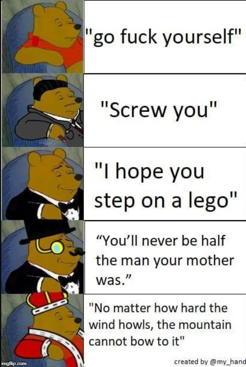 epic | image tagged in tuxedo winnie the pooh,repost | made w/ Imgflip meme maker
