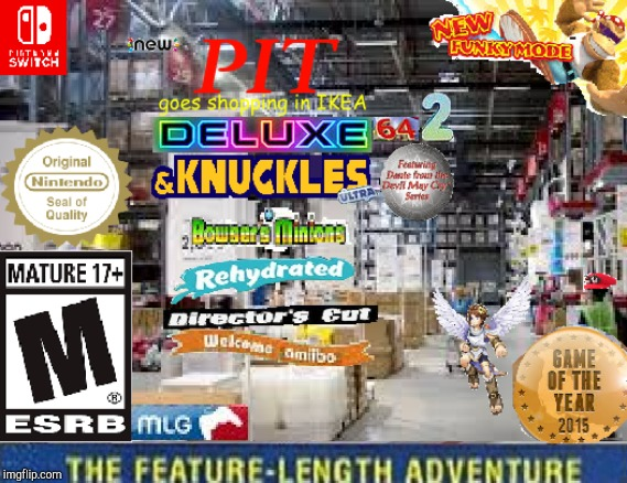 It's back, with a vengeance | image tagged in and knuckles,funky mode | made w/ Imgflip meme maker