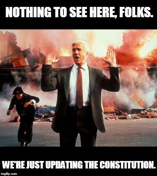 politics naked gun Memes & GIFs - Imgflip