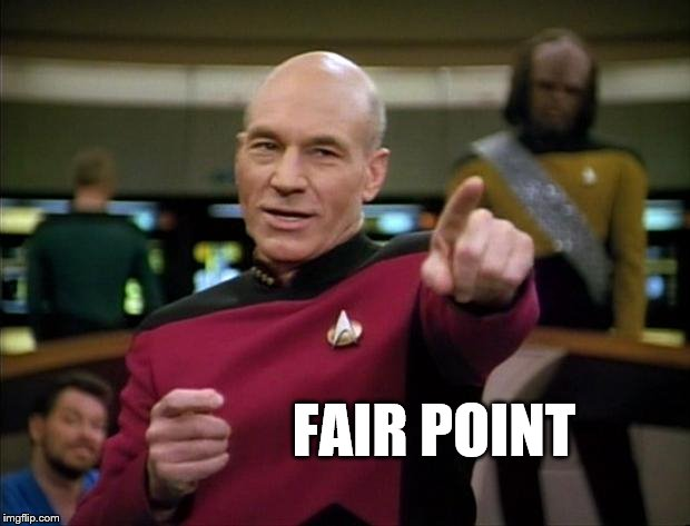 Picard | FAIR POINT | image tagged in picard | made w/ Imgflip meme maker