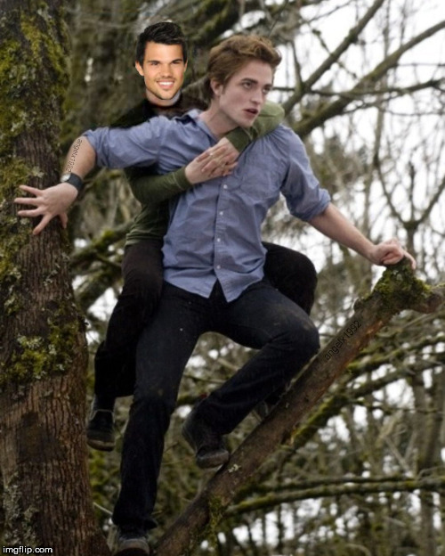 twilight | image tagged in twilight,flashback,freaky,robert pattinson,lgbtq,vampire | made w/ Imgflip meme maker