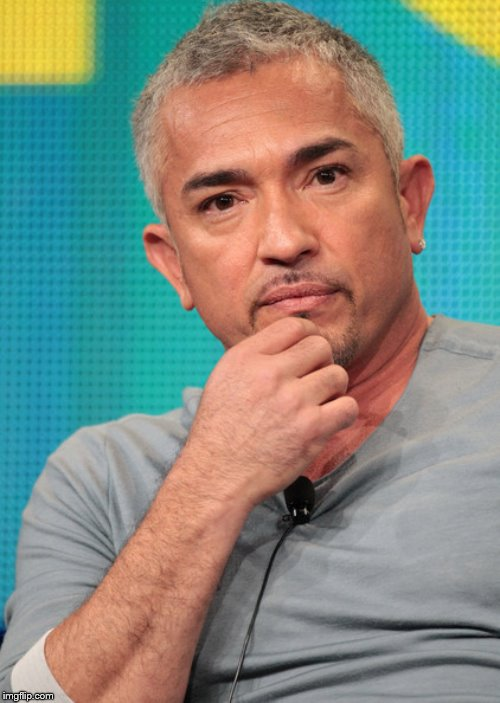 Confused Cesar Millan | image tagged in confused cesar millan | made w/ Imgflip meme maker