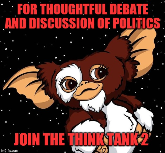 Feels a little empty over there. | FOR THOUGHTFUL DEBATE AND DISCUSSION OF POLITICS JOIN THE THINK TANK 2 | image tagged in the think tank 2,politics without rancour,sister stream | made w/ Imgflip meme maker
