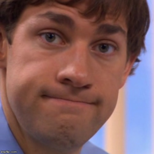 Welp Jim face | image tagged in welp jim face | made w/ Imgflip meme maker