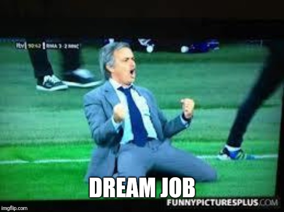 Fuck yeah  | DREAM JOB | image tagged in fuck yeah | made w/ Imgflip meme maker