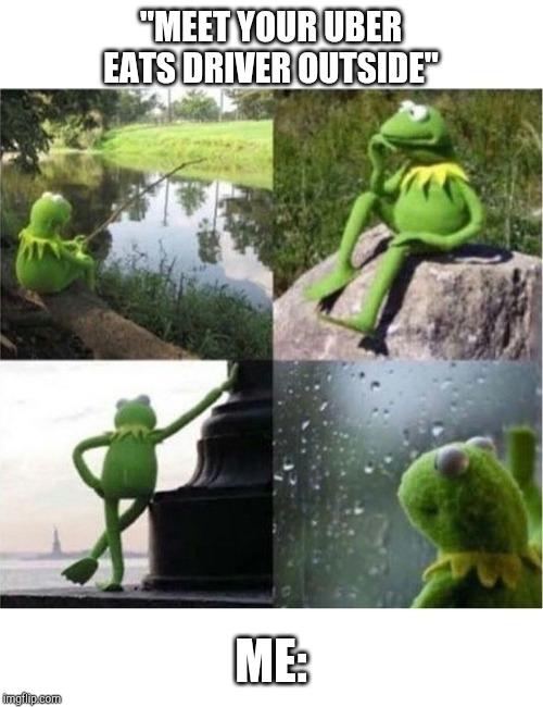 Blank Kermit Waiting Imgflip