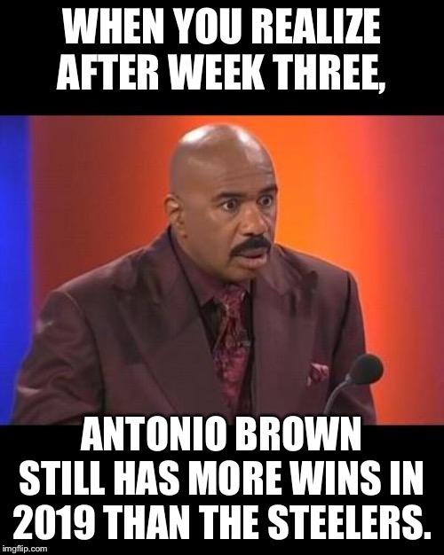 Antonio Brown Versus Steelers Imgflip
