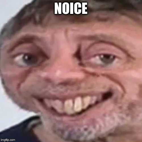 NOICE | image tagged in noice | made w/ Imgflip meme maker