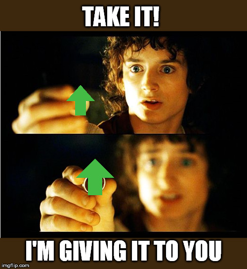 TAKE IT! I'M GIVING IT TO YOU | made w/ Imgflip meme maker