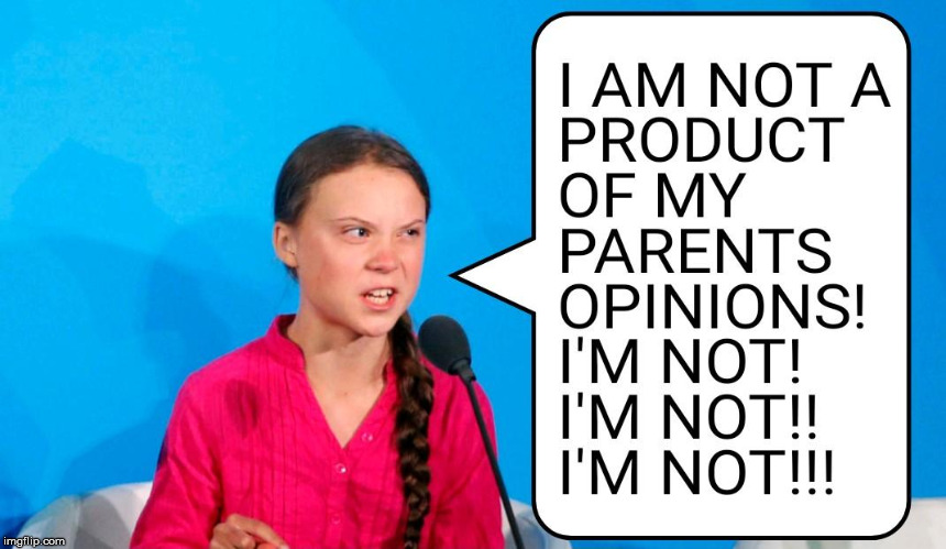 Parents Opinions | image tagged in parents,opinions,climate change,products,product | made w/ Imgflip meme maker