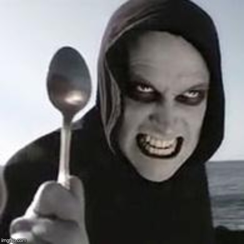 horiible murder with a spoon | image tagged in horiible murder with a spoon | made w/ Imgflip meme maker