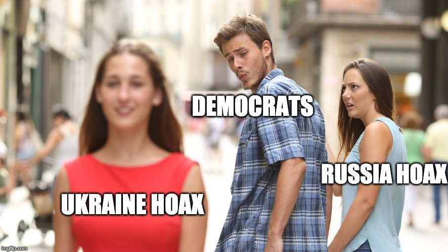 DEMOCRATS RUSSIA HOAX UKRAINE HOAX | image tagged in trump russia collusion,ukraine,democrats | made w/ Imgflip meme maker