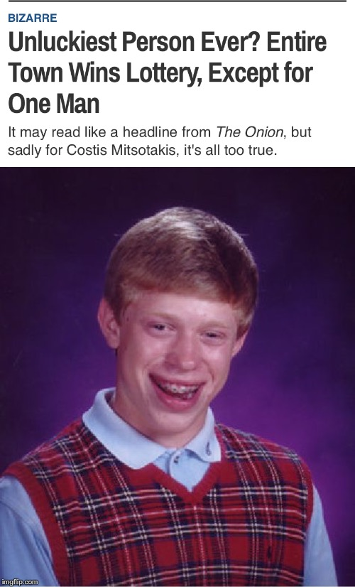 image tagged in memes,bad luck brian | made w/ Imgflip meme maker