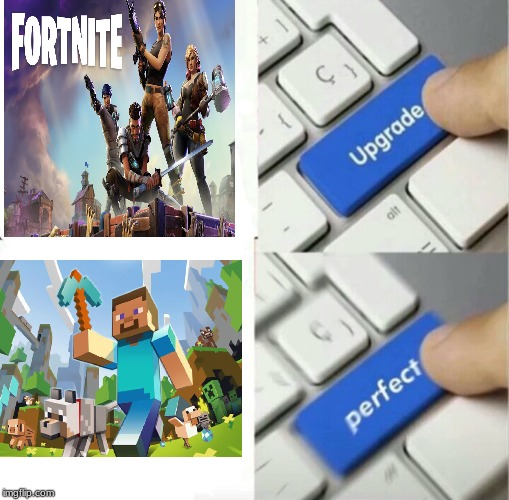 Upgraded to Perfection | image tagged in upgraded to perfection | made w/ Imgflip meme maker
